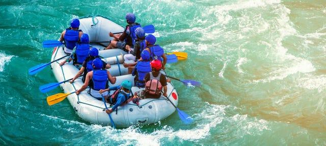Rafting en el río Pastaza