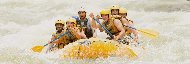 Rafting no rio Pastaza