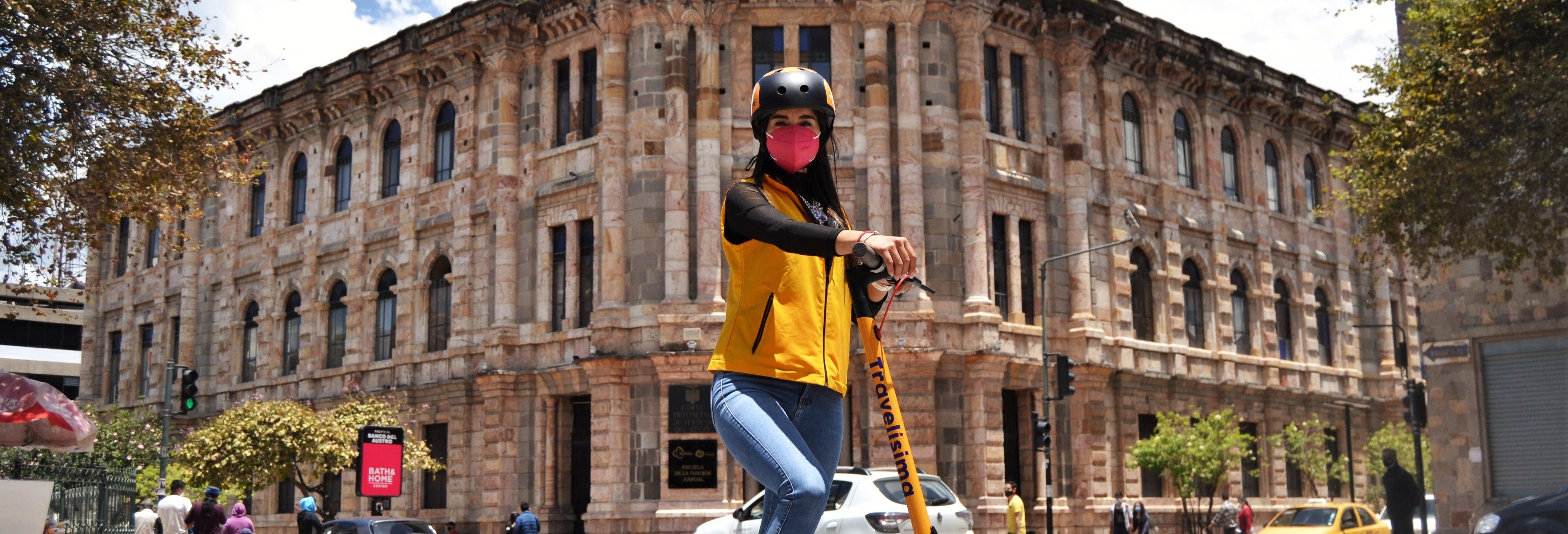 Tour en patinete eléctrico por Cuenca