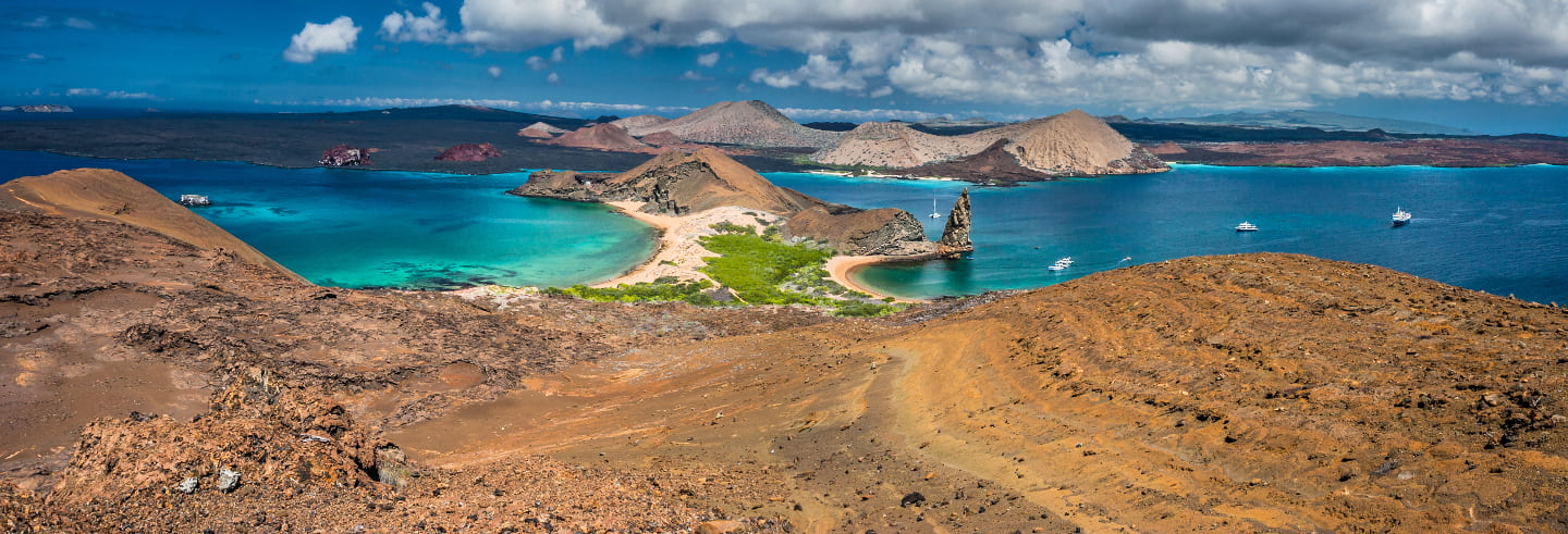 Excursion sur l'île Bartolomé