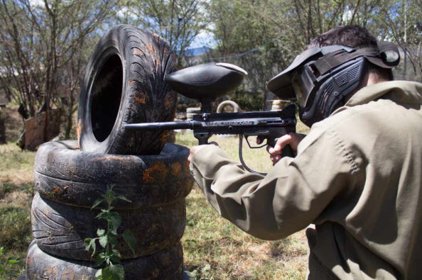 Paintball em Nayon Xtreme Valley