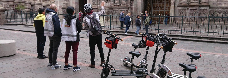 Tour en patinete eléctrico por Quito