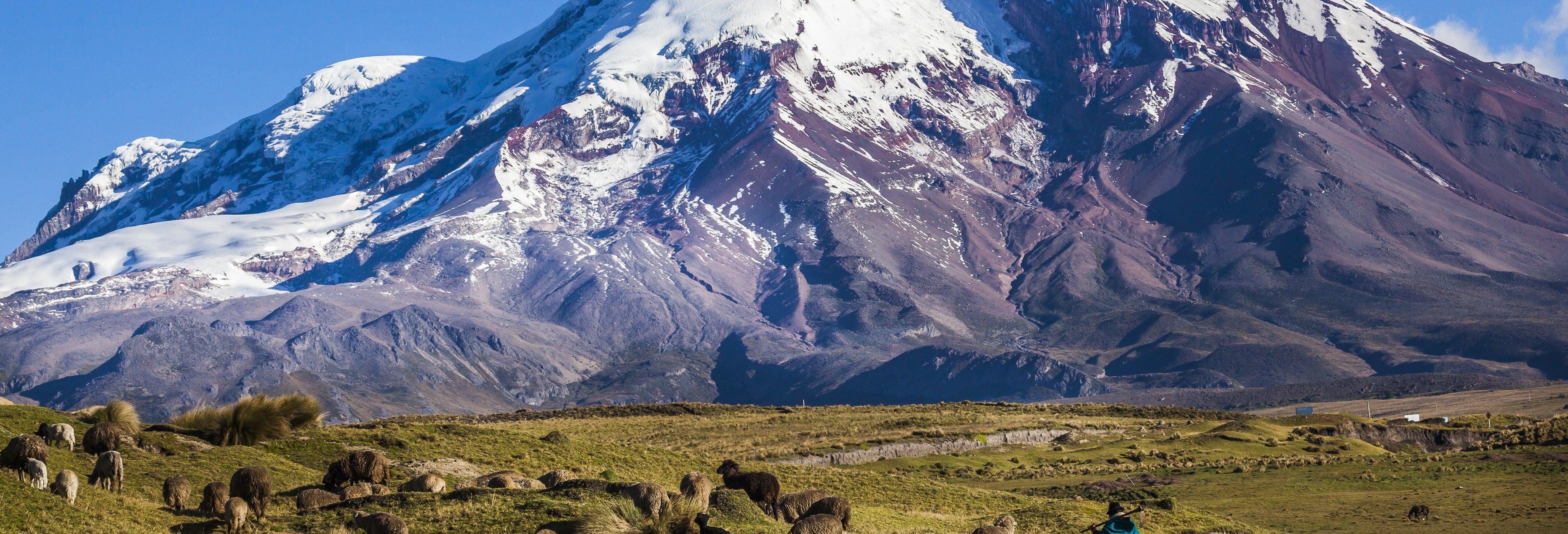 Escursione al Vulcano Chimborazo