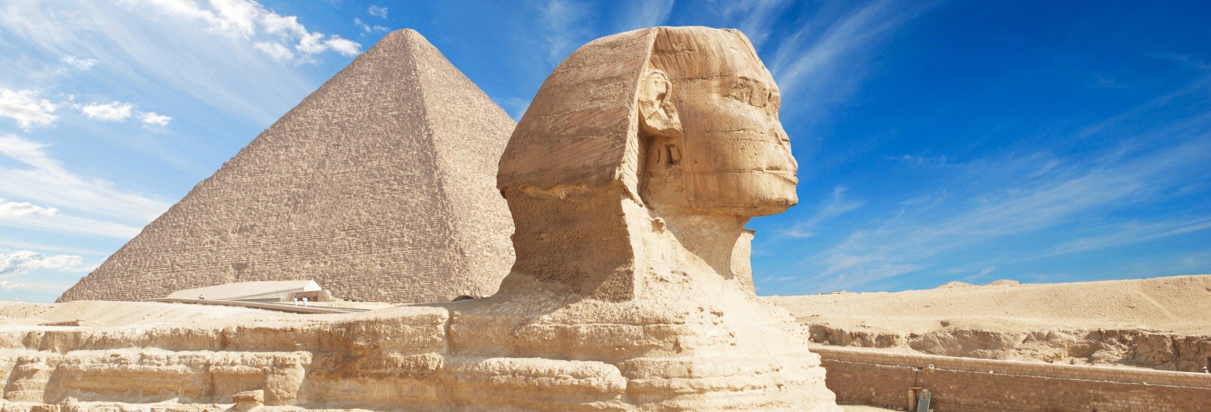 Excursión a El Cairo y las pirámides de Giza