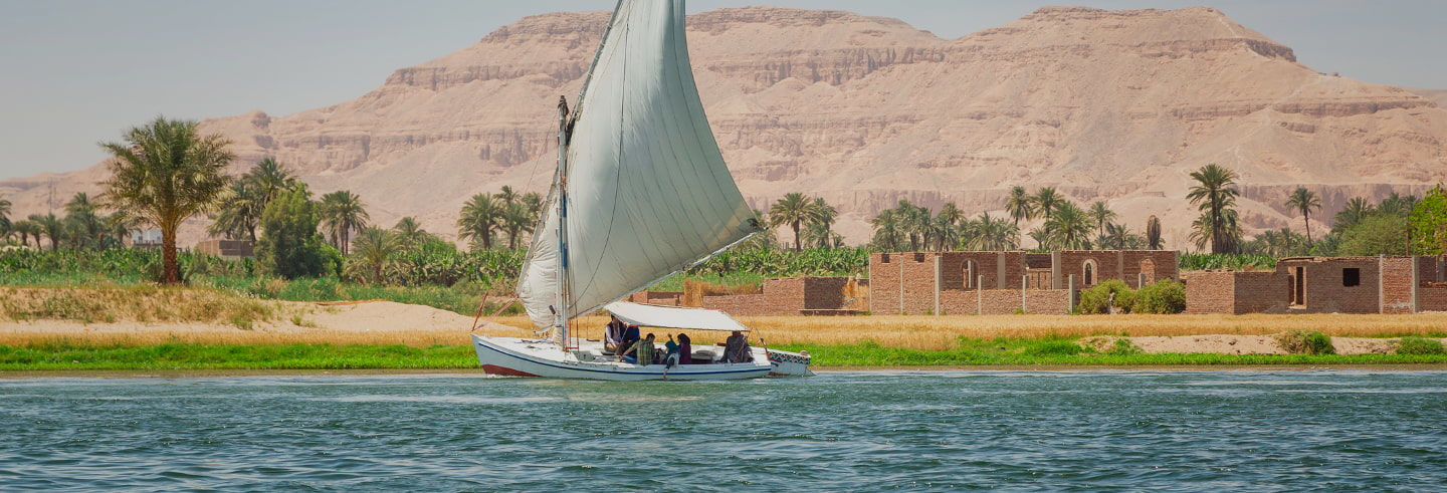 Balade en bateau sur le Nil