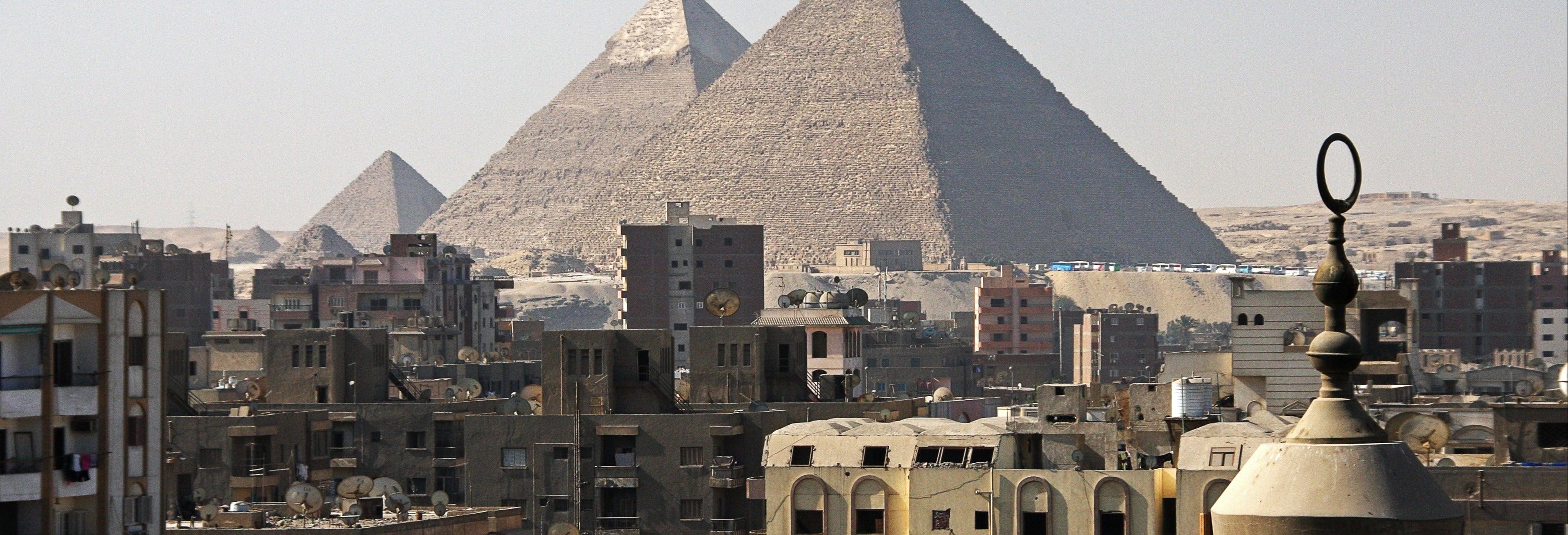 Cairo + Pirâmides de Gizé em um dia