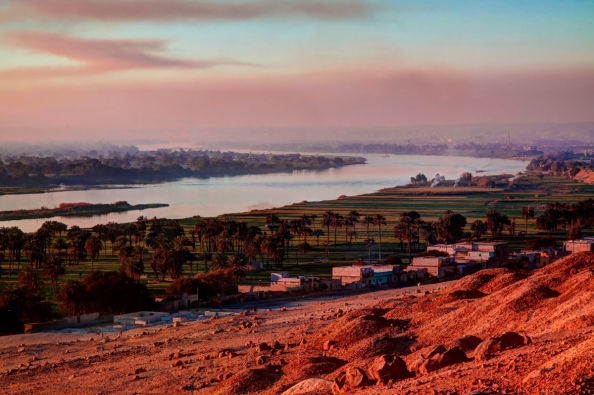 A view of the Nile from Menia