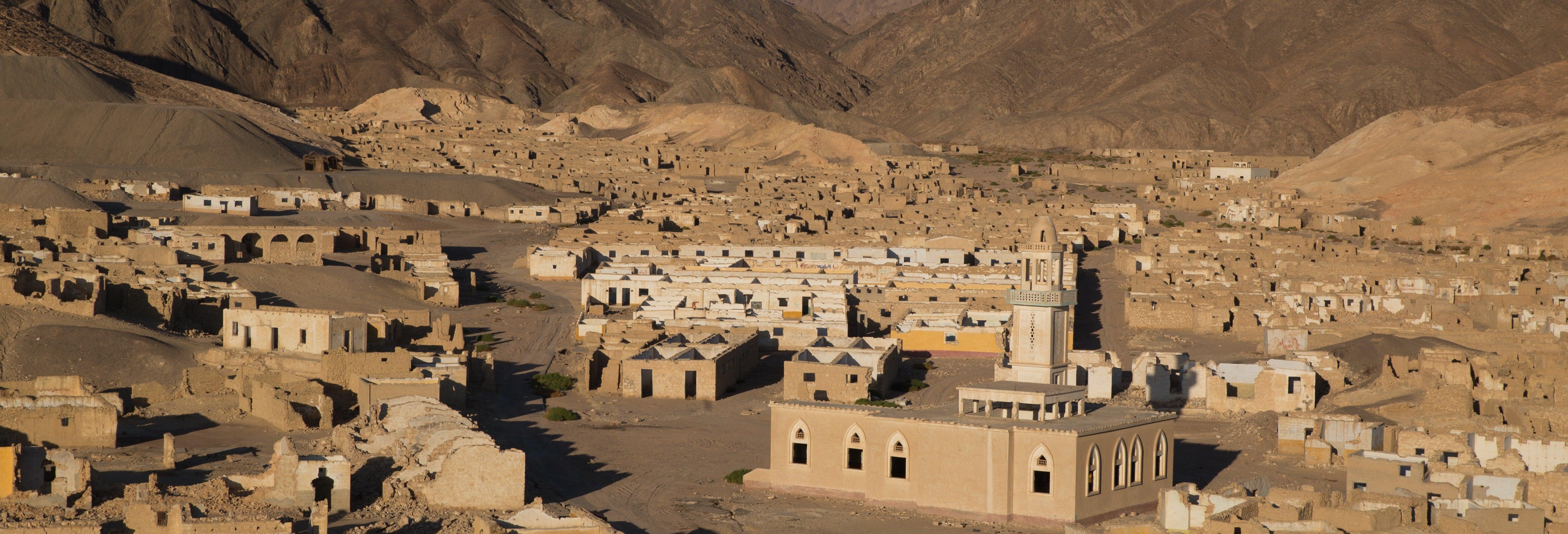 Excursão à cidade fantasma de Umm el Howeitat + Tour de quadriciclo
