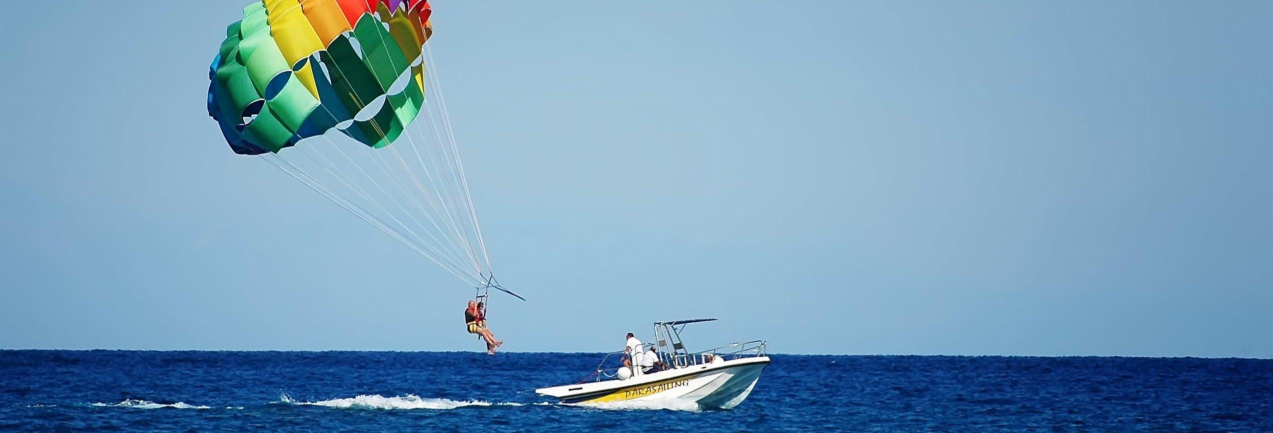 Parachute ascensionnel à Hurghada