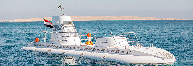Paseo en submarino por Hurghada