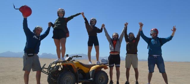 Safari por el desierto con cena beduina