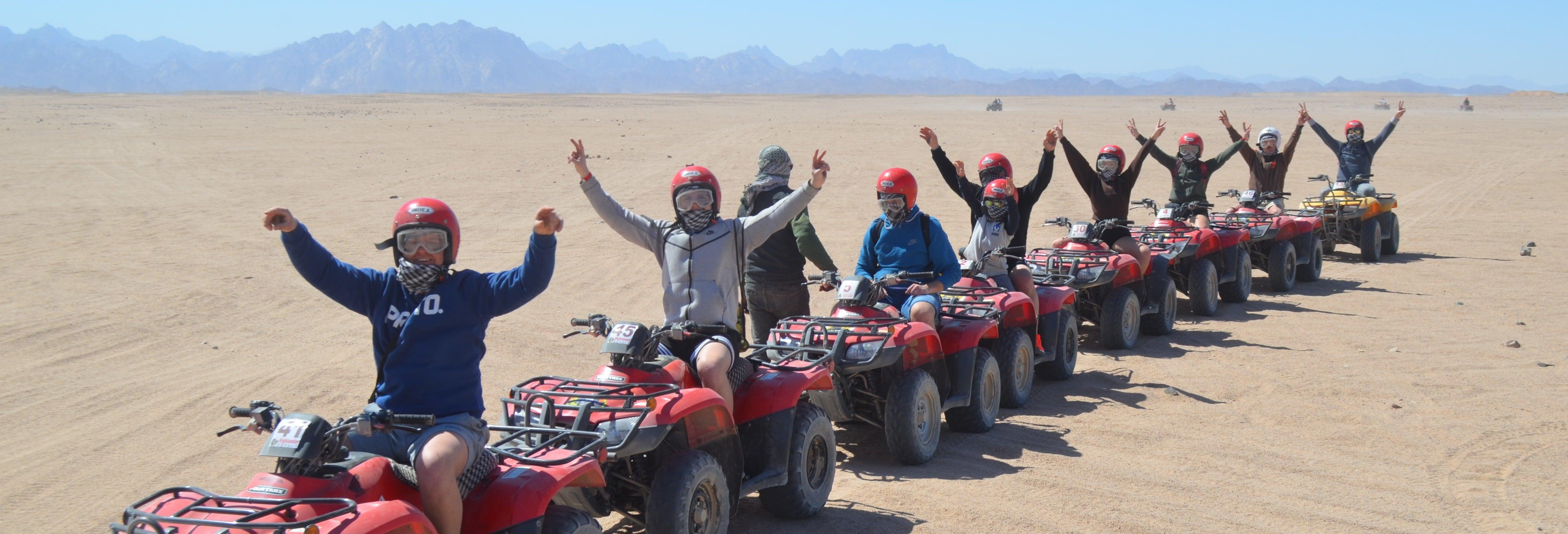 Quad Bike & Dune Buggy Safari