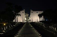 Karnak Temple Light Show