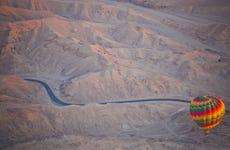 Paseo en globo por Lúxor al amanecer