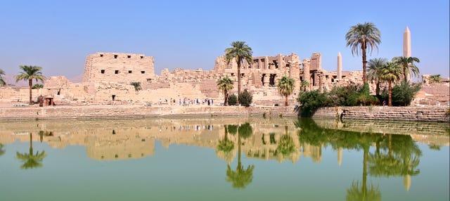 Visite guidée aux temples de Louxor et de Karnak