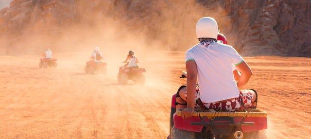 Tour en quad por el desierto del Sinaí