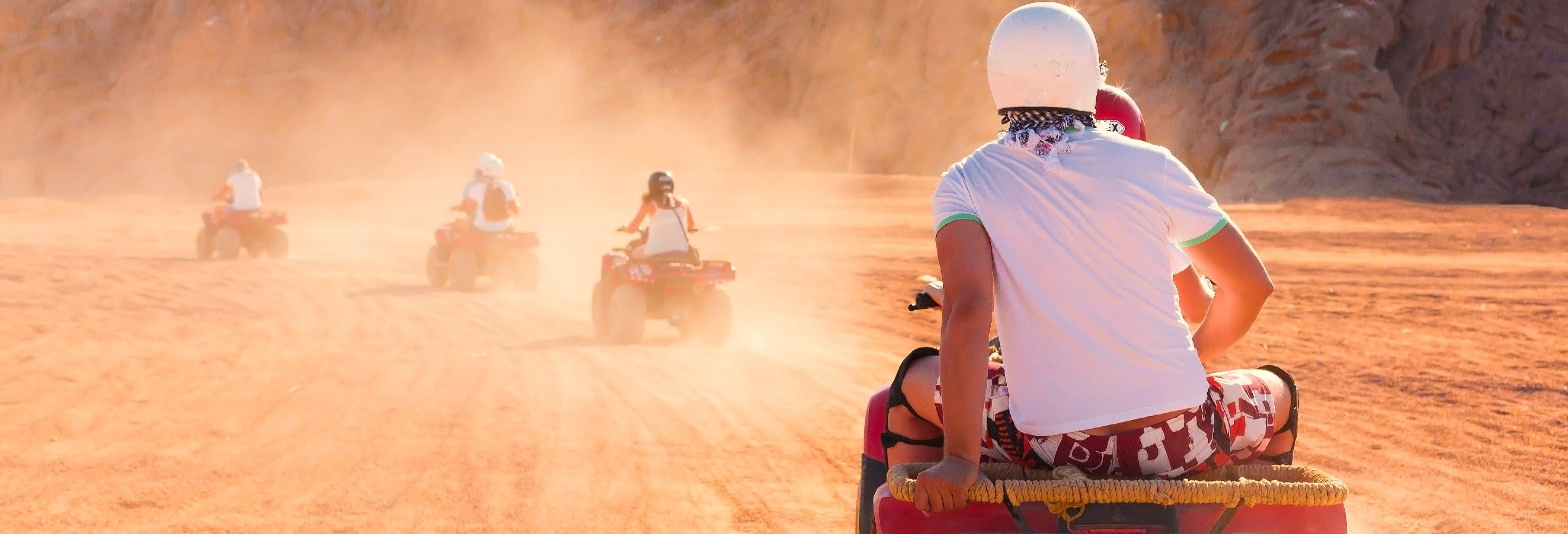 Tour de quadriciclo pelo deserto do Sinai
