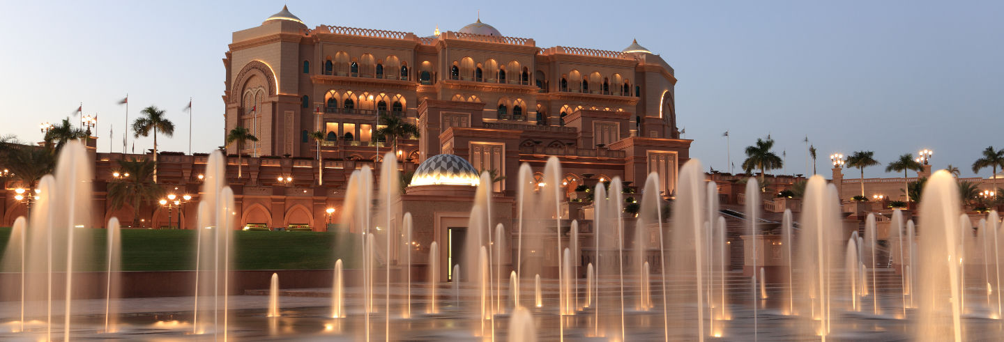 Dinner at the Emirates Palace