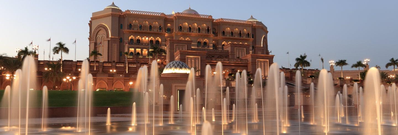 Cena en el Emirates Palace