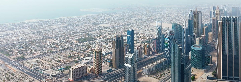 Giro in idrovolante ad Abu Dhabi