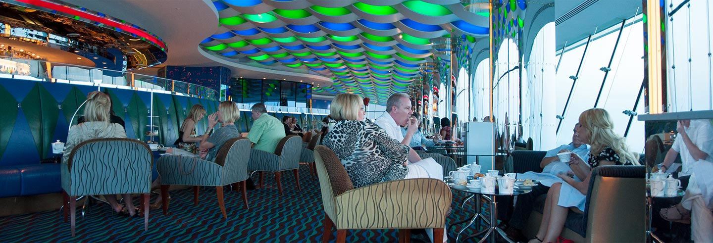 Afternoon Tea in the Burj Al Arab