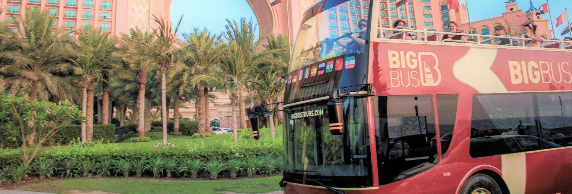 Bus touristique de Dubaï