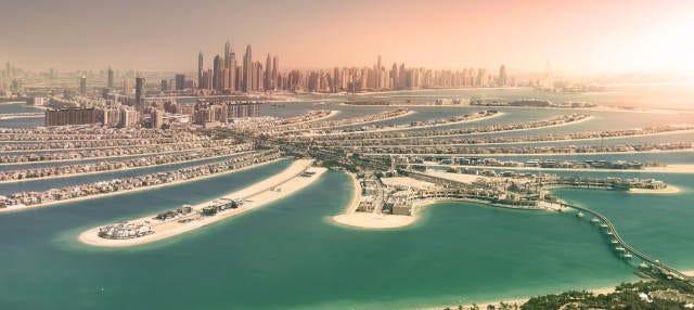 Crucero al atardecer por Dubái Marina