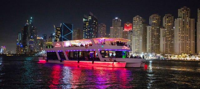 Dîner-croisière dans Dubaï Marina