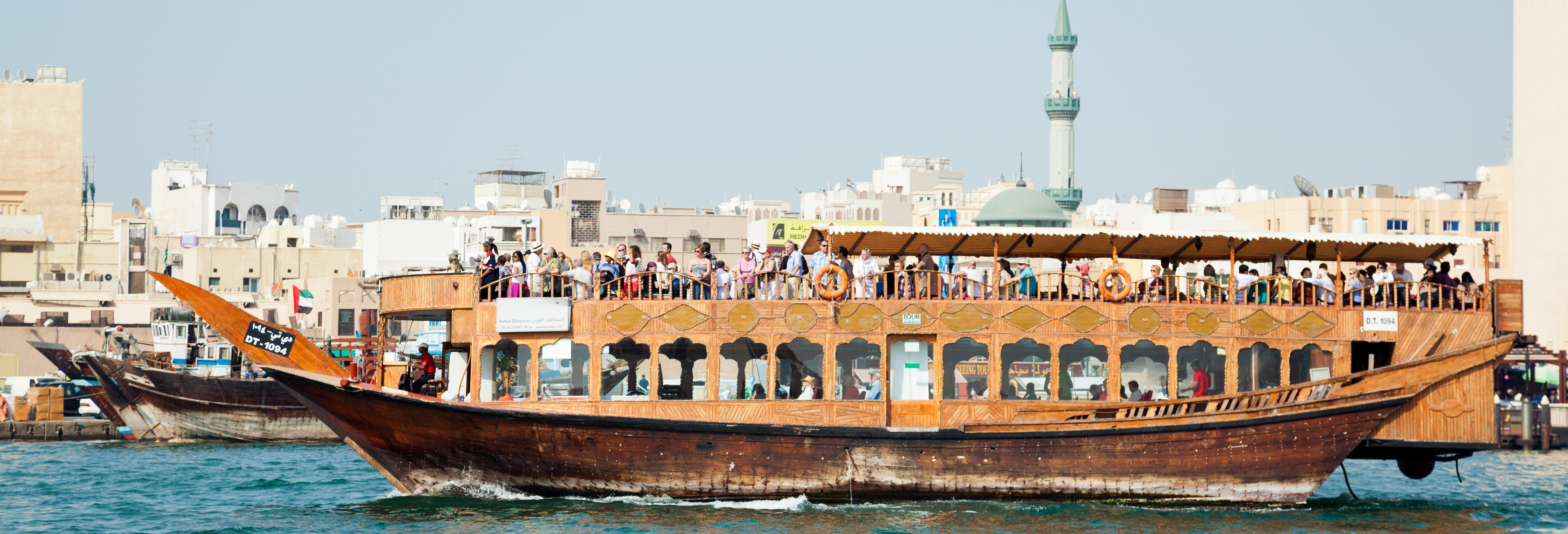 Crociera in dhow a Dubai