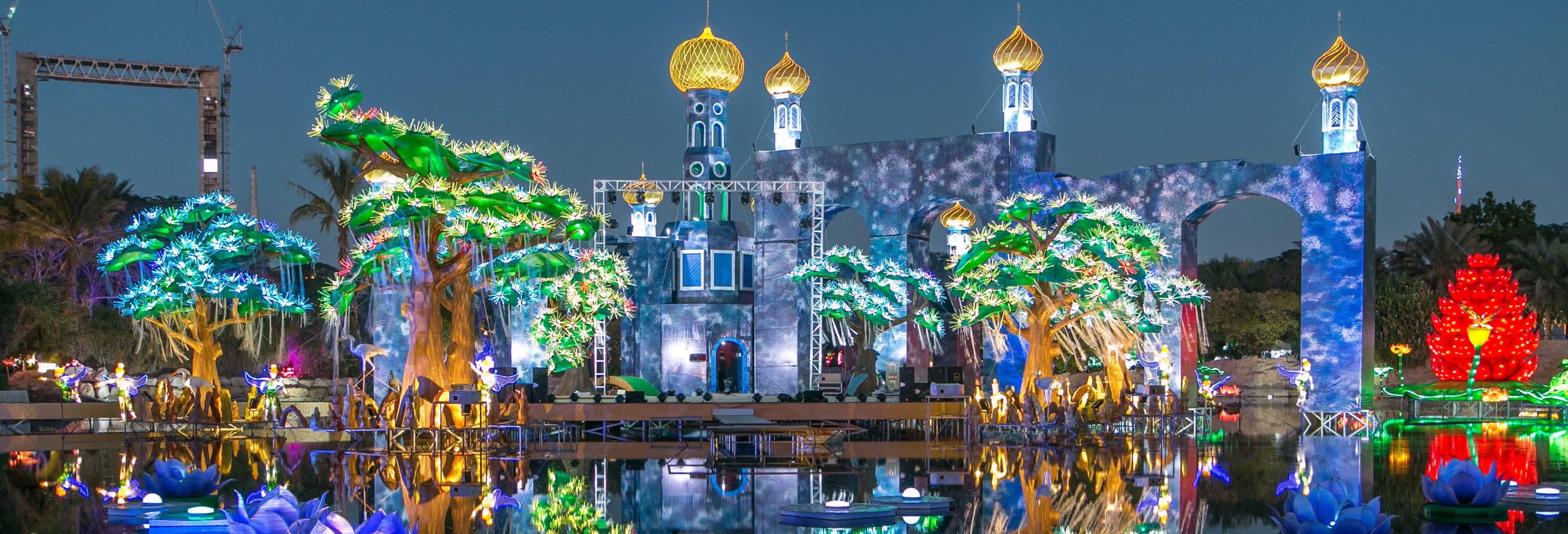 Ingresso do Dubai Garden Glow
