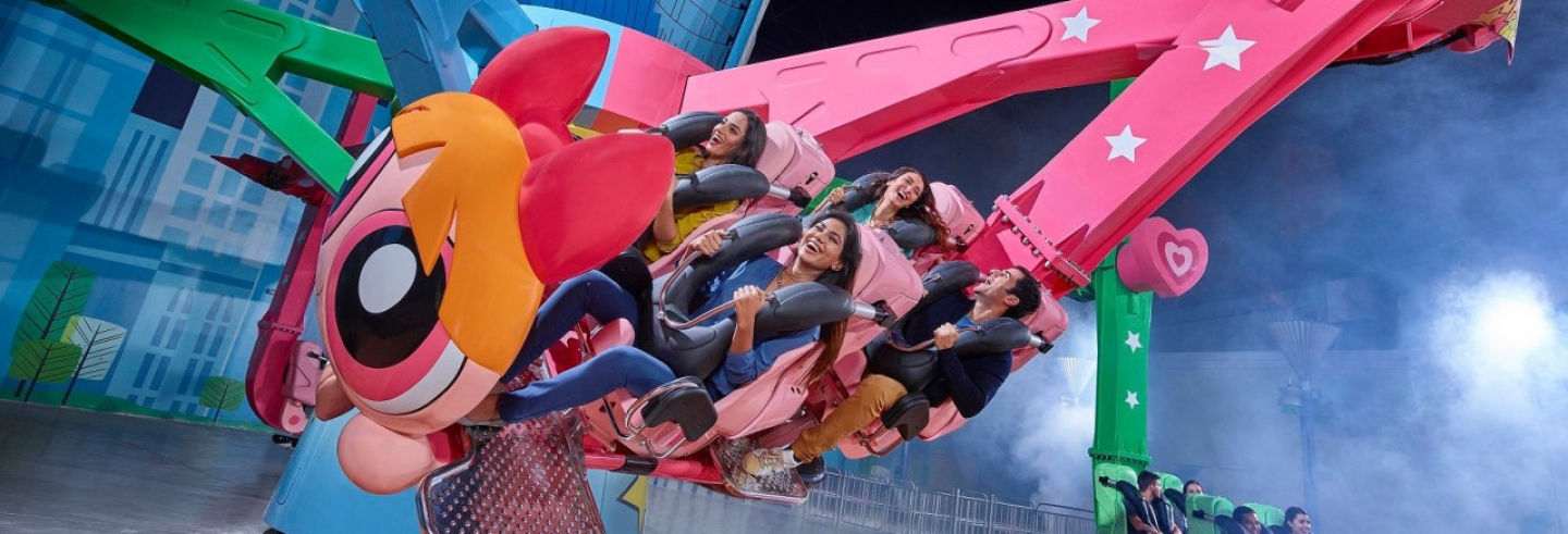 Billet pour IMG Worlds of Adventure
