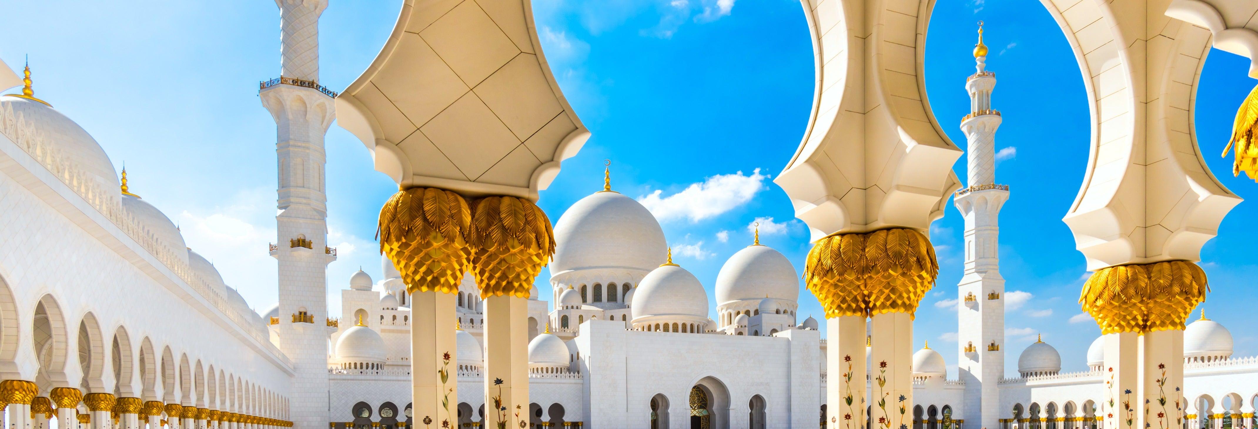 Excursión a la Gran Mezquita y el Louvre de Abu Dhabi
