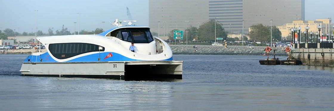 Traghetto a Dubai