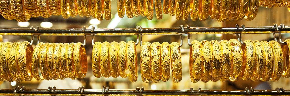 Souk de l'or de Dubaï