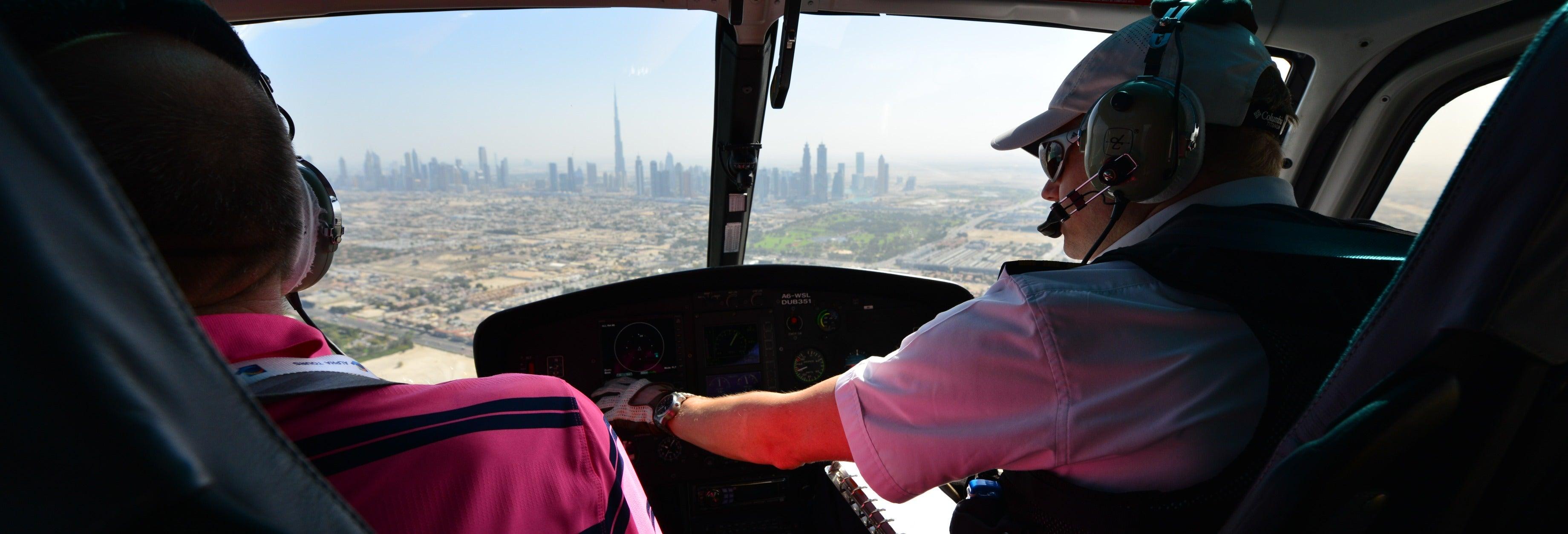 Paseo en helicóptero por Dubái
