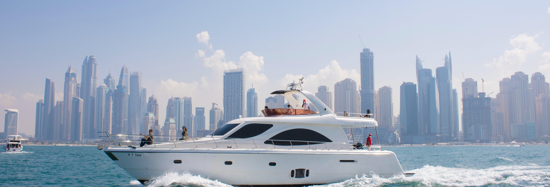 Giro in yacht a Dubai