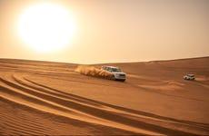 Safari de lujo y noche en el desierto