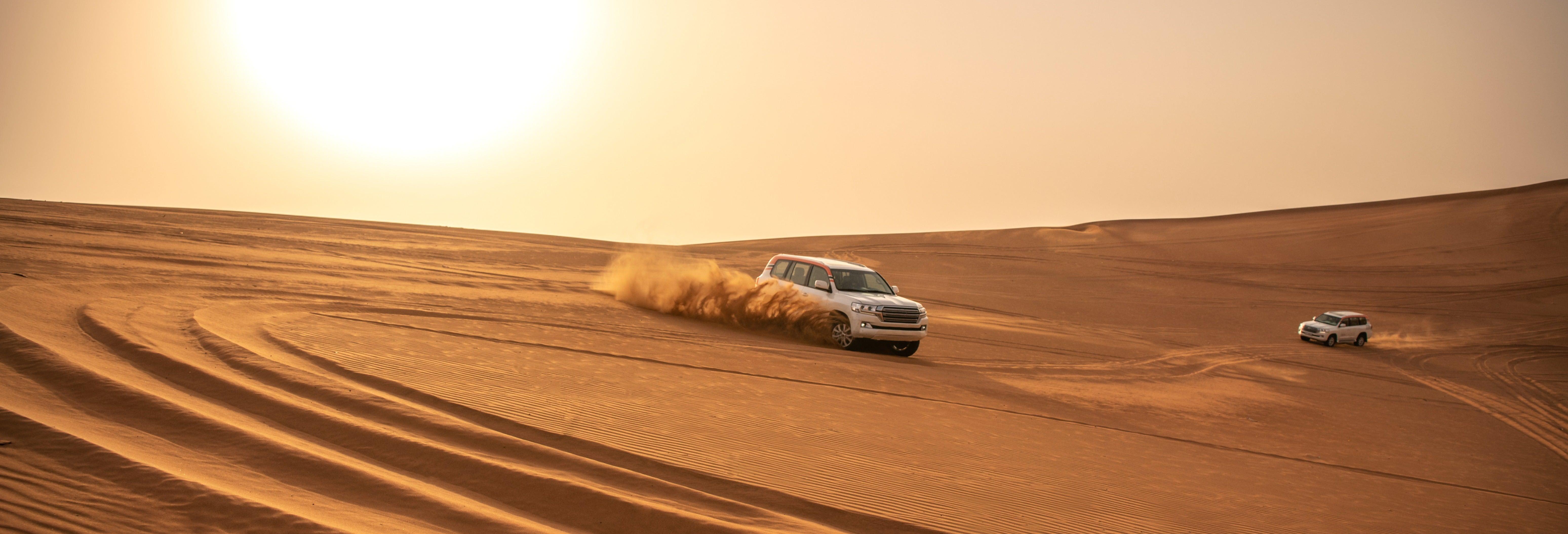 Safari de luxe et nuit dans le désert