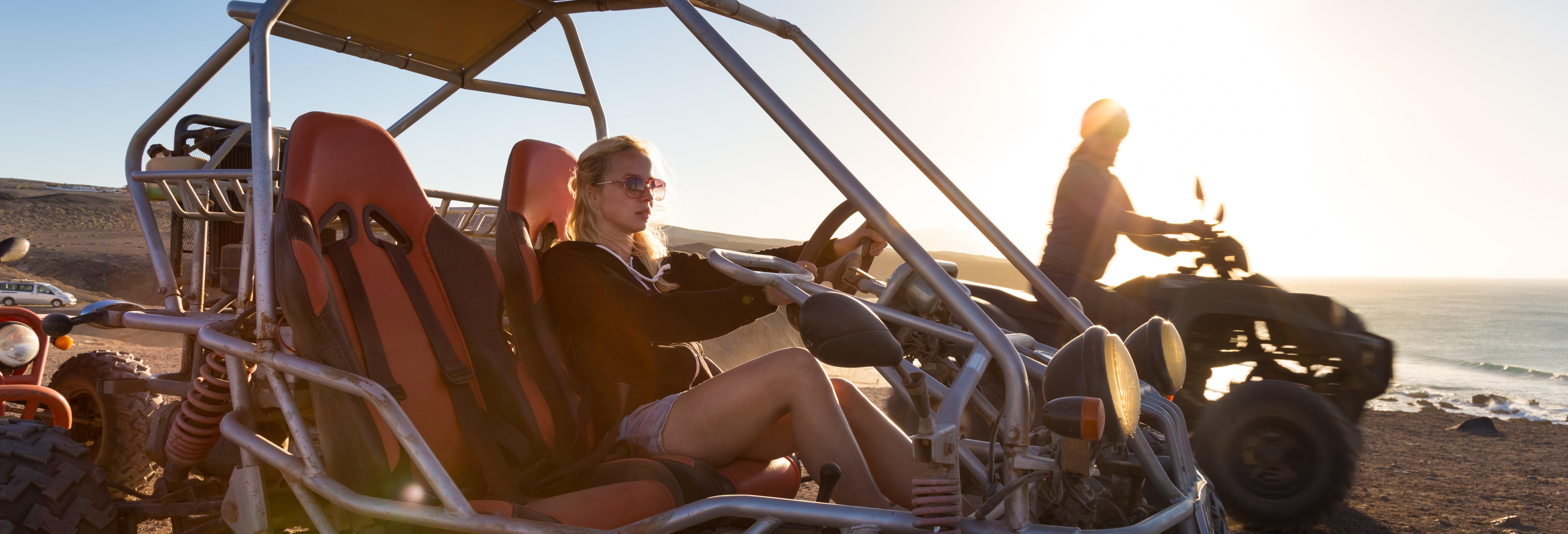 Tour de buggy pelo deserto