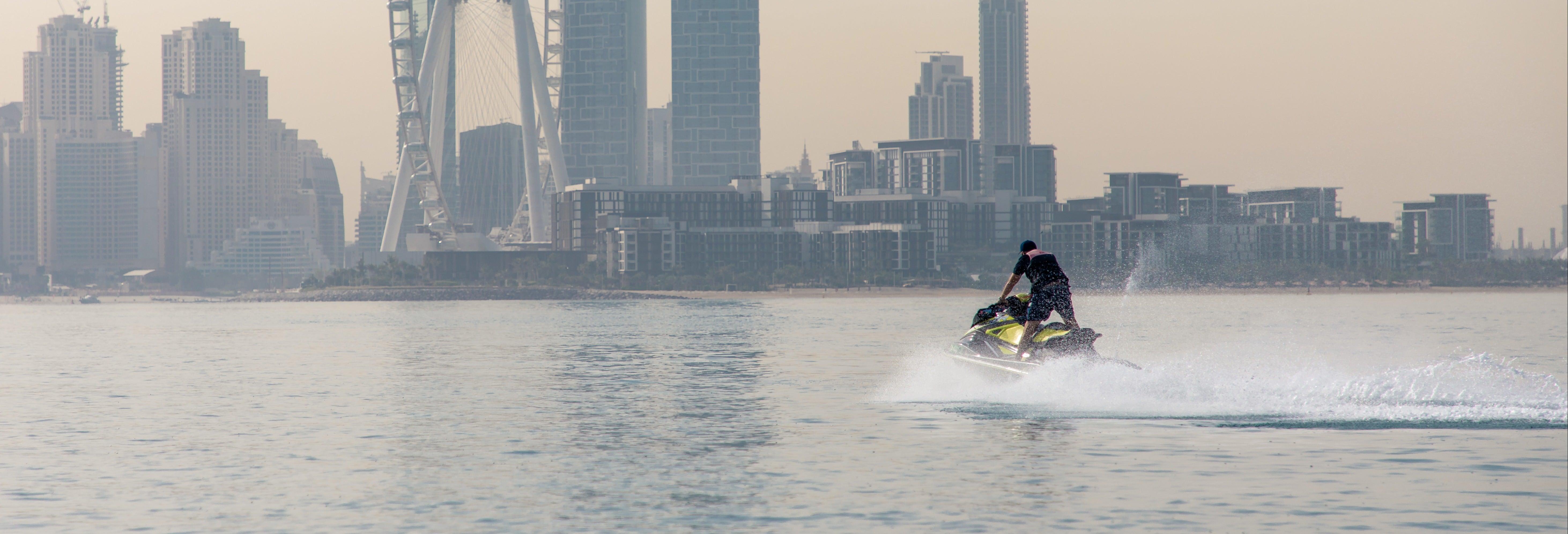 Balade en jet-ski à Dubaï
