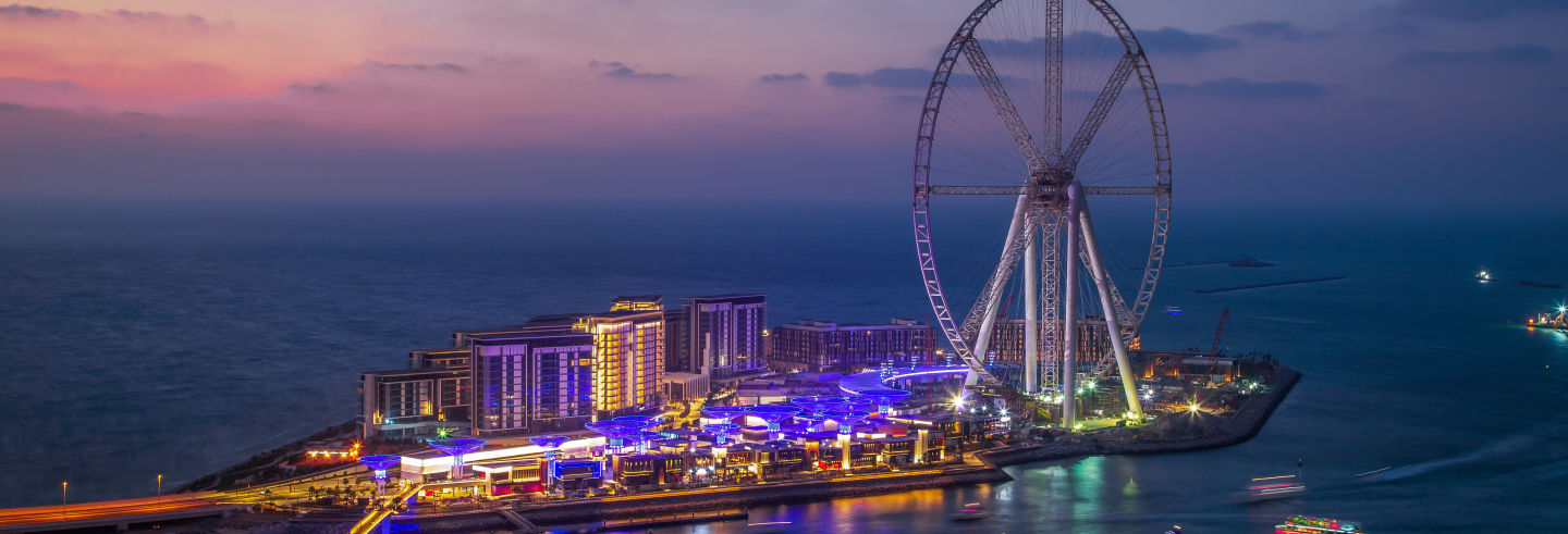 Tour nocturno por Dubái