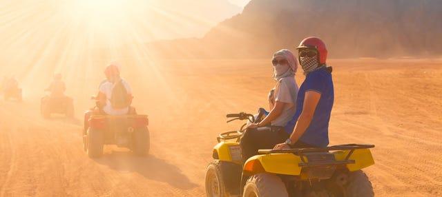 Tour en quad por el desierto de Dubái