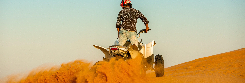 Balade en quad dans le désert Al Wadi