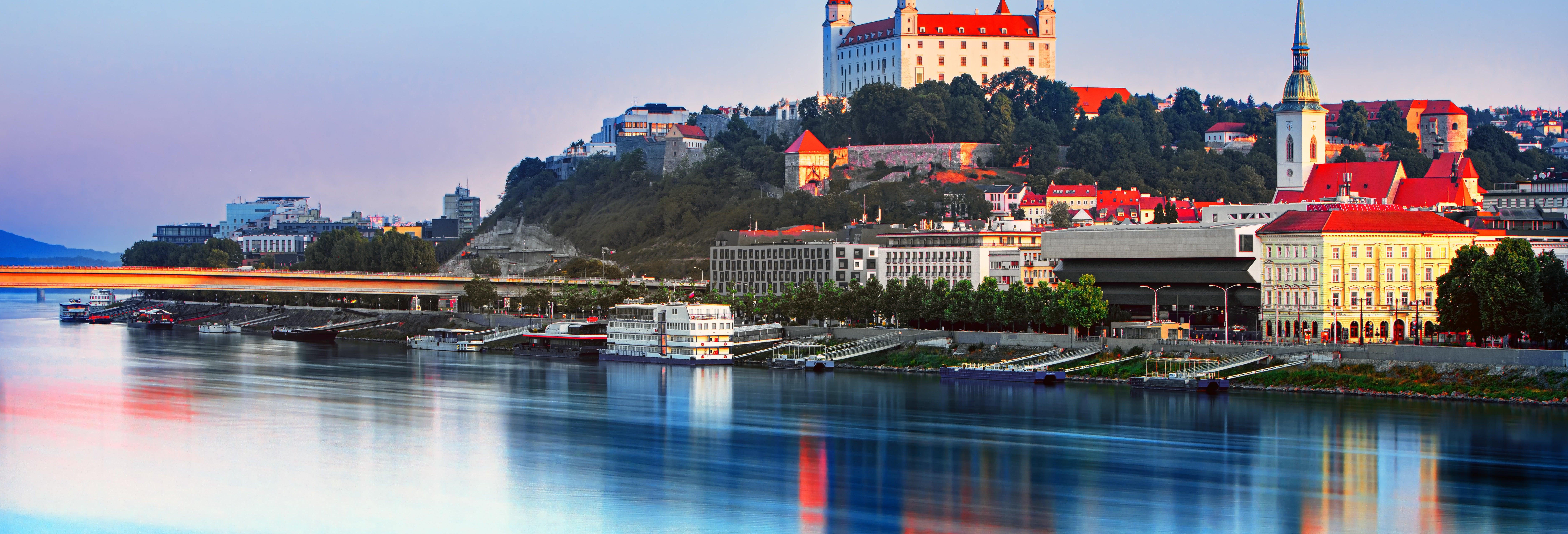 Free tour por el castillo y la catedral de Bratislava