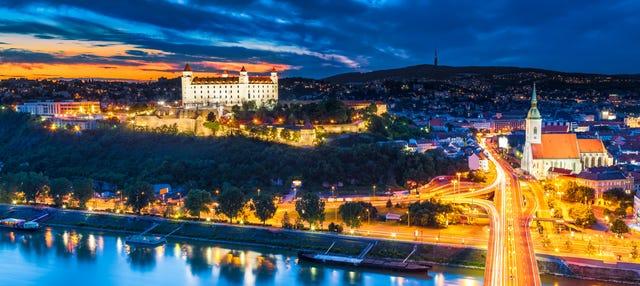 Tour nocturno por Bratislava
