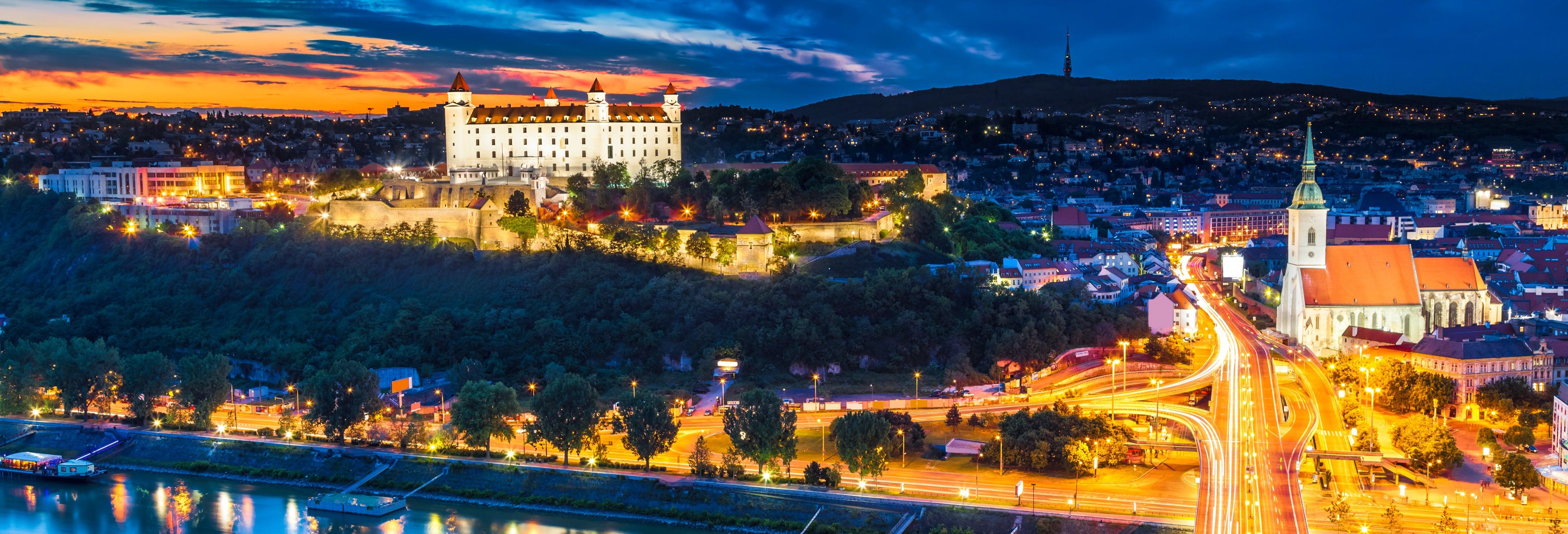 Tour serale di Bratislava