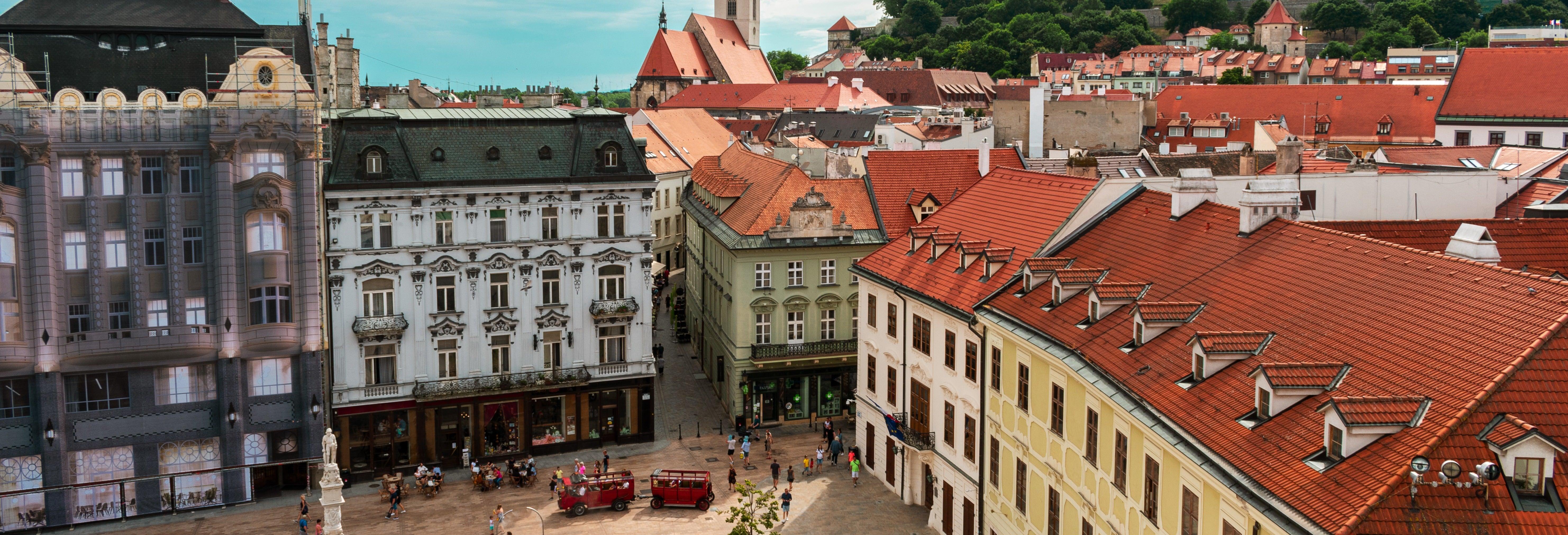 Tour de Bratislava al completo