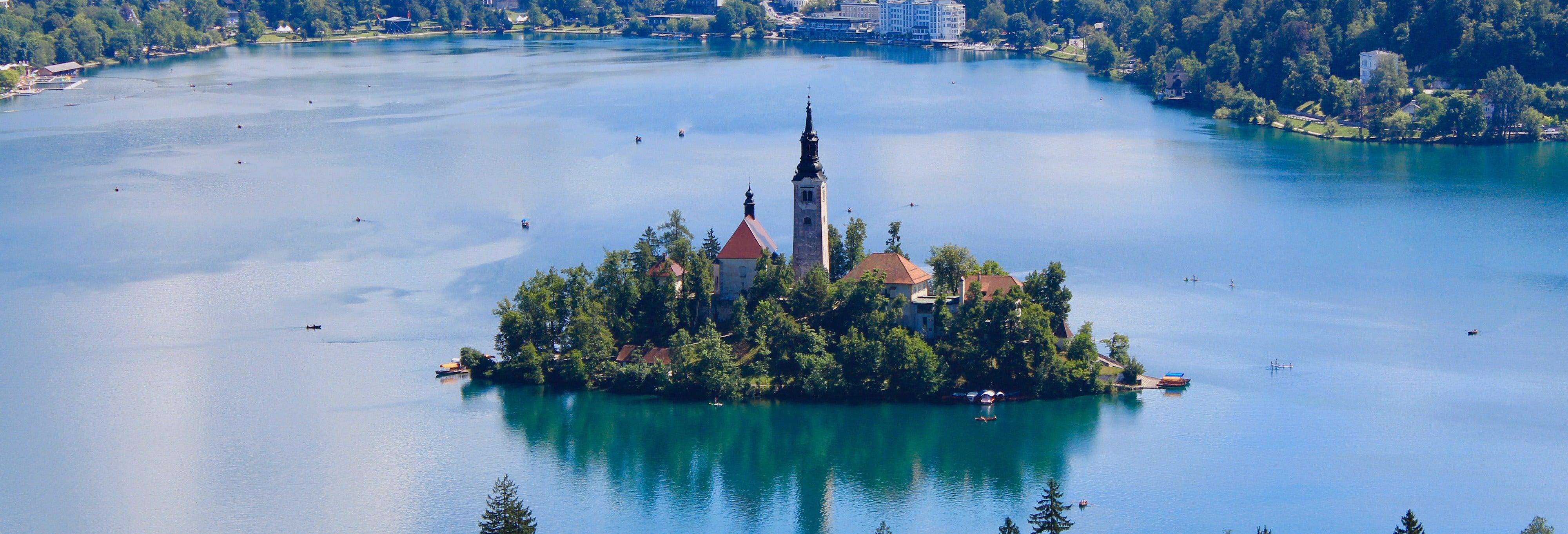 Visita guiada por Bled