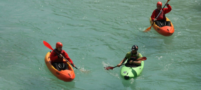 Tour en kayak por el río Isonzo