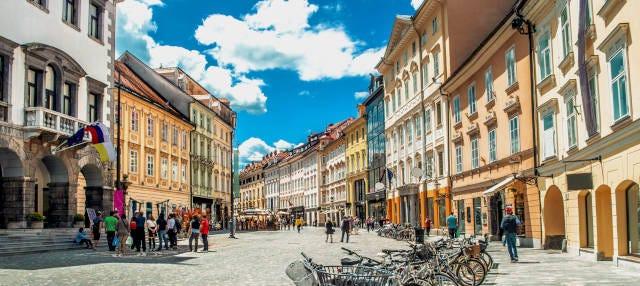 Free tour por Liubliana